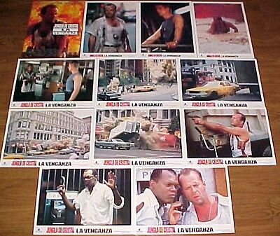 Bruce Willis 12 lobby cards Die Hard With a Vengence Jeremy Irons L. Jackson