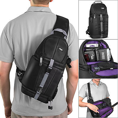 Camera-Sling-Backpack-Bag-for-Canon-Nikon-Sony-DSLR-amp-Mirrorless-by-Altura-Ph