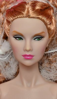 "Come Thru Tulabelle Industry 12"" NUDE Doll NEW Fashion Royalty Integrity"