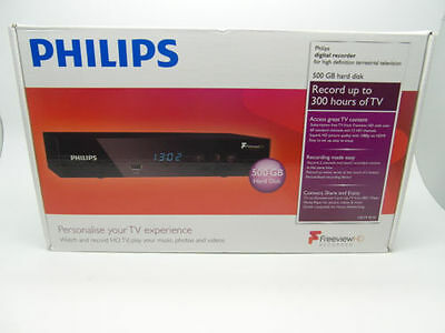Philips Freeview+ HD 500Gb HDMI TV Recorder Phillips HDTP8530/05 UK Seller