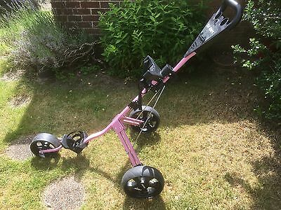 Golf Trolley - 3 wheel in excellent condition