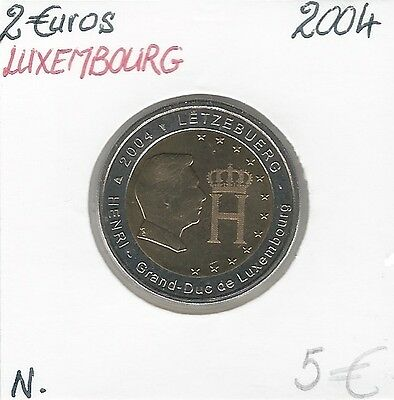 2 Euros - LUXEMBOURG - 2004 Quality: New