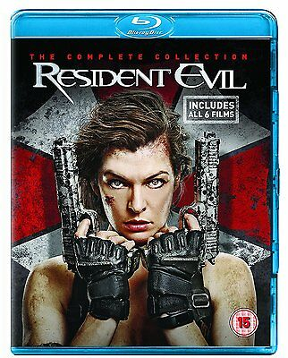 Resident Evil The Complete Collection - Blu Ray Brand New & Sealed