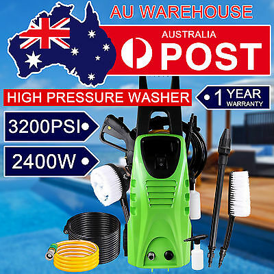 3200PSI High Pressure Water Cleaner Electric Water Washer Turbo Head Nozzle