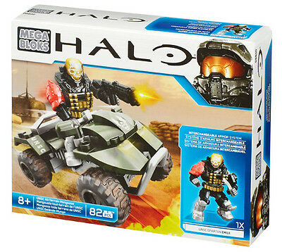 Mega Bloks Halo Unsc All Terrain Mongoose Off Road Vehicle Brand New Dbb00