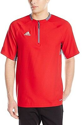 Adidas Men's Climalite Fielder's Choice Cage Jacket Size 2XL Red