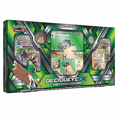 Pokemon TCG Decidueye GX Premium Collection Box: Inc Booster Packs + Promo Cards