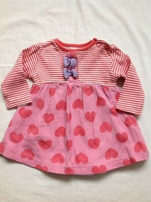 Baby Girls Top Newborn 0-1 month M&Co top hearts