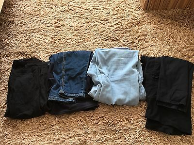 Bundle Of Jeans For Pregnant Women,Size 8. MAMA By H&M. Maternity Jeans Trousers