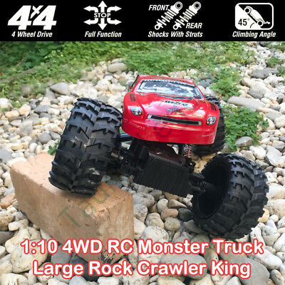 NQD 1/10 Remote Control 4WD Off Road Rock Crawler King RC Car Red Head 40MHz NEW