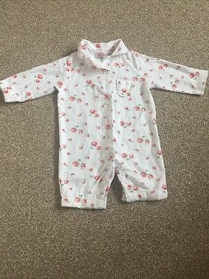 Girls 0-3 Months Cath Kidston Sleepsuit Outfit Pyjamas