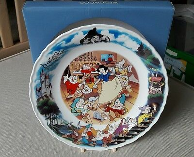 wedgwood walt disney Snow White and the Seven Dwarves plate