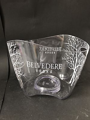 Belvedere Vodka Acryl Kühler Deko Party Ice Bucket