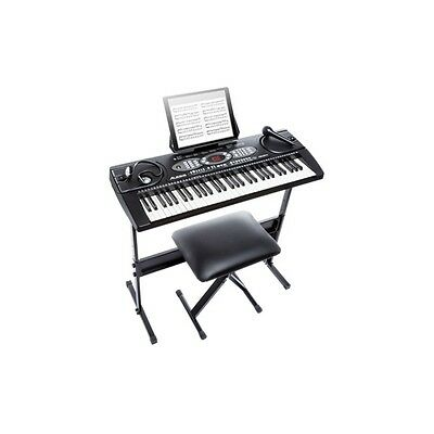 Alesis Melody 61 61-Key Portable Keyboard With Accessories Inc Warranty
