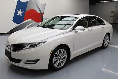 2016 Lincoln MKZ/Zephyr  2016 LINCOLN MKZ ECOBOOST SUNROOF NAV REAR CAM 38K MI #604527 Texas Direct Auto