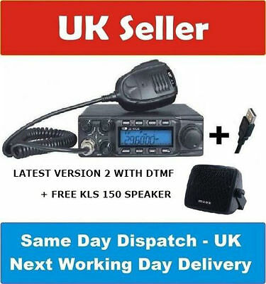 Pre Programmed Brand New Crt Ss 9900 Multimode Am/fm/ssb (At6666) With Usb Cable