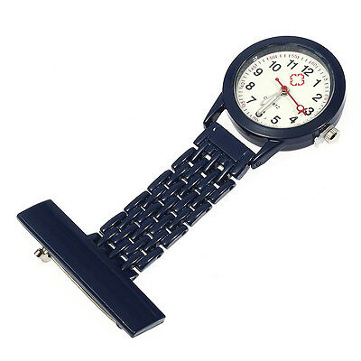 Montre Infirmière Poche Mouvement à Quartz Nurse Watch Broche Epingle Clip