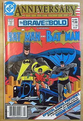 The Brave and the Bold #200 (Jul 1983, DC) NM 9.4 Batman...Nice!..Free Shipping!