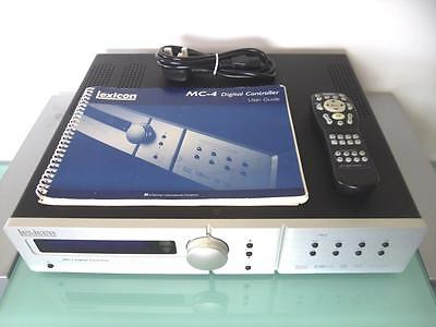 Lexicon MC-4 Digital Controller / Home Cinema Processor ~ RRP £4,000+