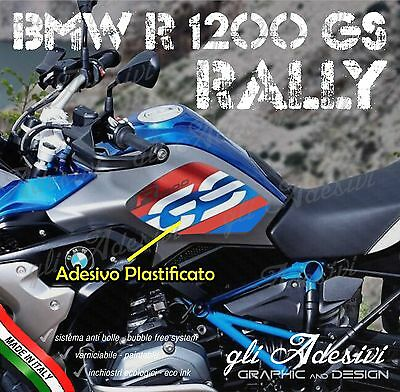 Set Adesivi BMW R 1200 GS LC 2017 RALLYE EXCLUSIVE total cover