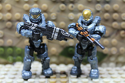 Mega Construx/Bloks - Halo - Spartan 087- Kelly and Spartan Enforcer