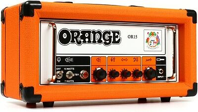 Orange OR15 Amplifier 15 Watt Tube Guitar Head Amp