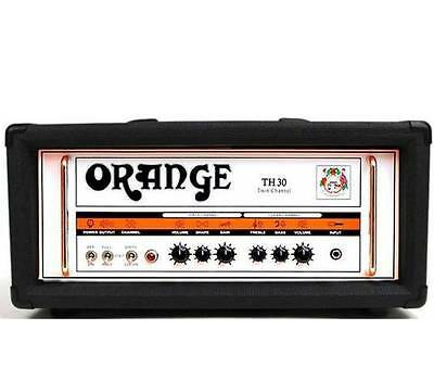 Orange TH30H-BK Amplifier Twin Channel 30 Watt Guitar Head Amp (Black Tolex)
