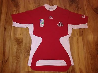 Rare Georgia Rugby World Cup 2007 Match Worn Rugby Union Shirt/jersey/maillot