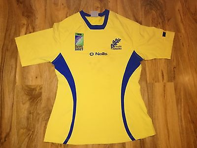 Rare Romania Rugby World Cup 2007 Match Worn Rugby Union Shirt/jersey/maillot!