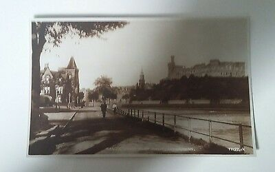 Castle From Ness Walk. Inverness. Postcard