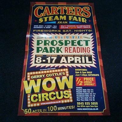Gerry Cottles circus poster