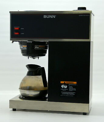 Bunn Coffee Brewer VPR 12-Cup Commercial Pourover Machine 2 Warmers 33200.0001 1