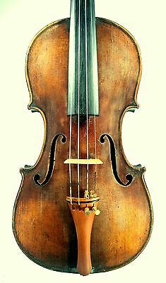 1876 antique American violin in restored condition, nice sound
