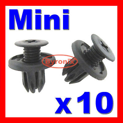 BMW MINI INNER WHEEL ARCH LINER SPLASHGUARD CLIPS Cooper s one d R50 R52 R53 R56