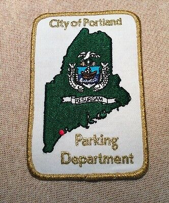 ME Portland Maine Parking Authority Patch