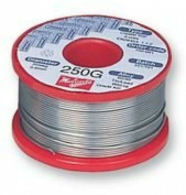 SOLDER WIRE, 60/40, 0.46MM, 250G D626 250G REEL By MULTICORE / LOCTITE  (BB4)