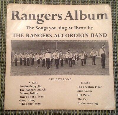 Rangers Album, The Songs You Sing At Ibrox