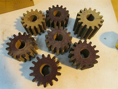 New Union Gear Co.  5FS15 Fiber Gears D-27