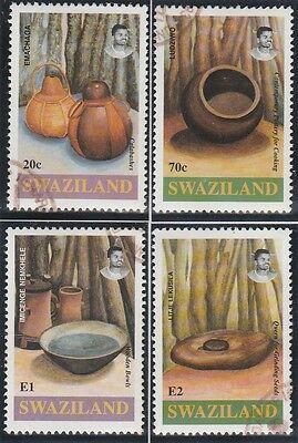 Swaziland Stamps 1993 Archaeological and Contemporary Artifacts SG 622-625 (CTO)