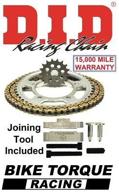 BMW S1000R 13-16 DID VX Chain And Sprocket Kit + Tool