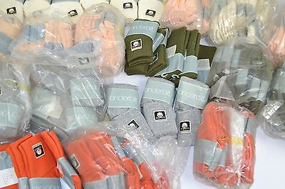 Vtg New 1980's Lot of 234 Pairs VANDERBILT SPRINGFOOT Asst Colors Cuffed Socks