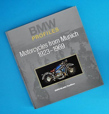1923-69 BMW Profiles Motorcycle Manual Book R32 R63 R11 R16 R12 R51 R67 R60 R69