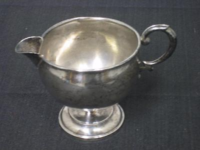 Vintage Hamilton Sterling Silver Creamer Cup , Weighted