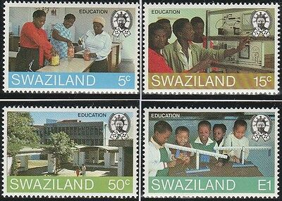 Swaziland Stamps 1984 EducationSG 444-447 (MNH)