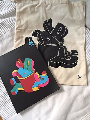 Arkitip X Parra Numbered Magazine With Tote Bag / obey kaws art illustration