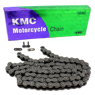 """KMC Yamaha 420H x 104 Link Scooter Heavy Duty Drive Chain Pitch 1/2"""""""