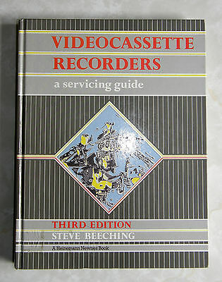 VCRs A servicing guide by Steve Beeching 3rd edition 1988