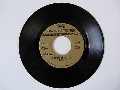 Rare Crossover 70`s Soul ORIGINAL First Issue  RARE  JUNEI - YOU MUST GO ON