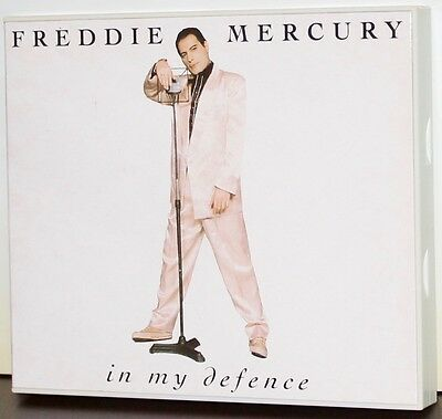 PARLOPHONE / EMI PROMO CD: Freddie Mercury - In My Defence - 4 Trax - 1992, UK