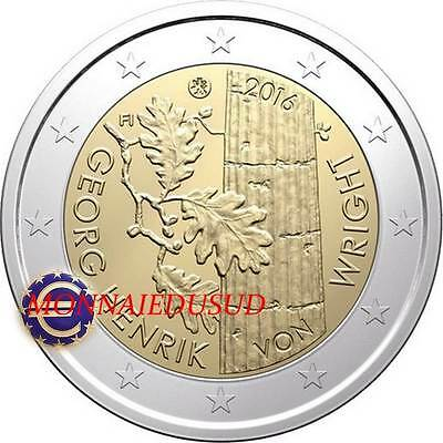 2 Euro Commémorative Finlande 2016 - Georg Henrik Von Wright